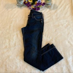 Silver Suki Dark Wash Slim Boot Jeans Sz 31x33